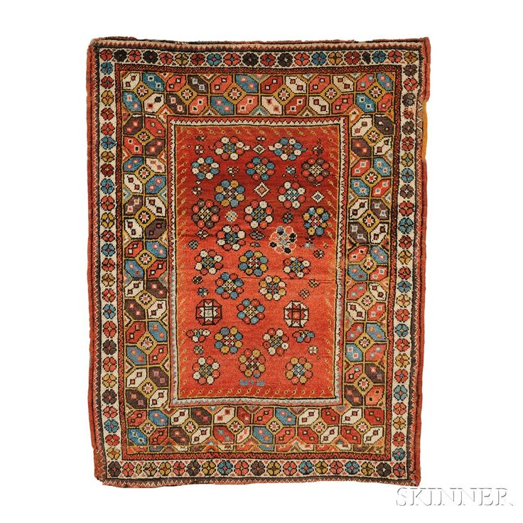 Melas Rug, Southwest Anatolia, second half 19th century,  5 ft. 1 in. x 3 ft. 11 in.  | Skinner Auctioneers Sale 2752B