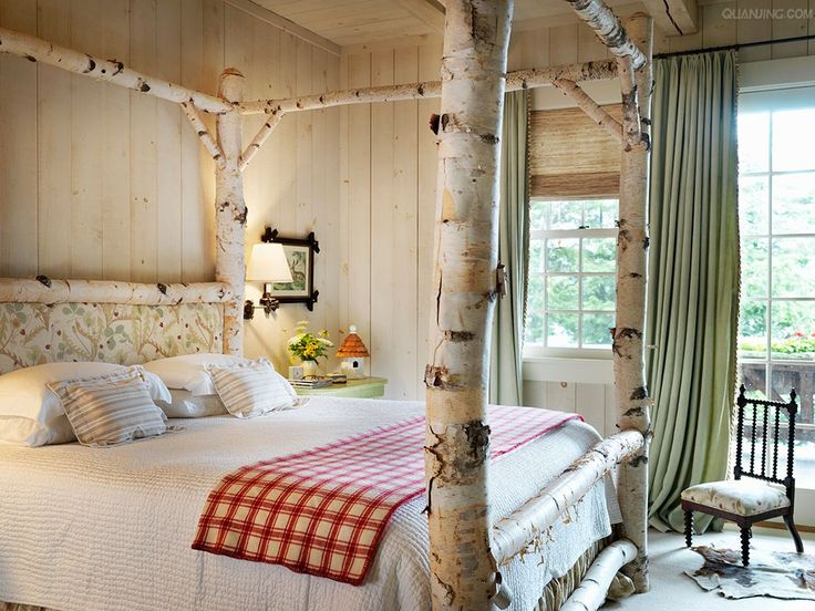 480 best images about style adirondack rustic cabin style for Rustic cottage bedroom