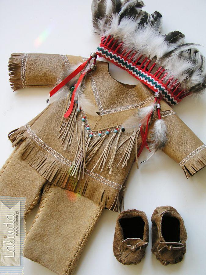 Strój indiański dla lalki Lalinda