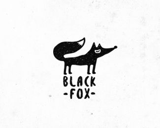 black fox - character made for ServiceFox