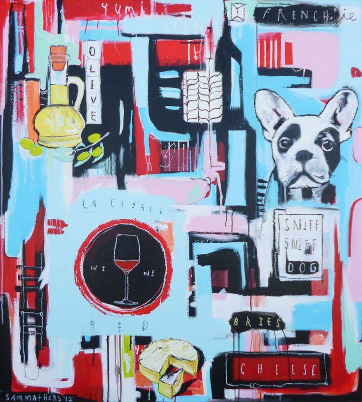 La Cigale - Sam Mathers, NZ artist