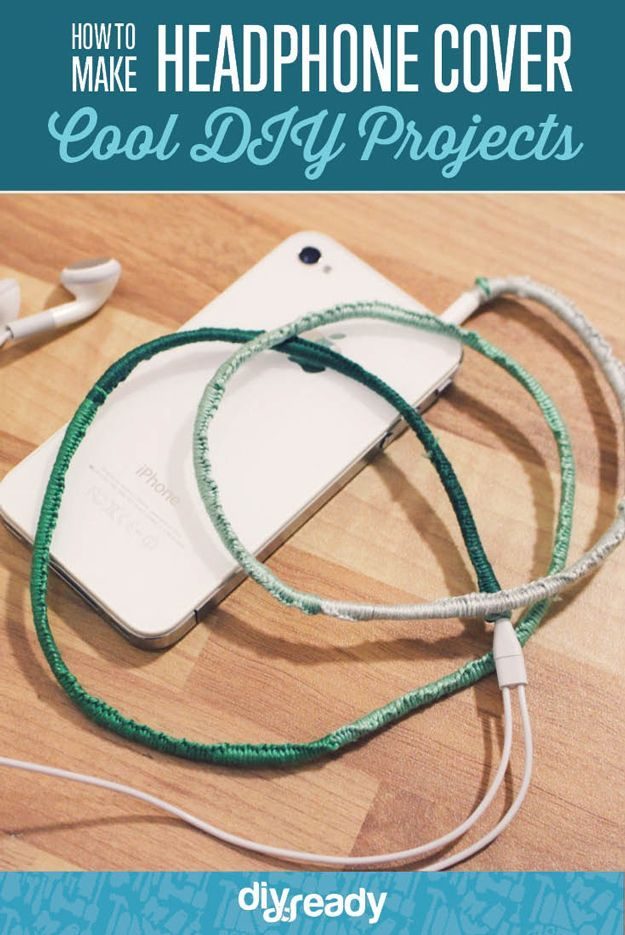 How to Make Headphone Covers by DIY Ready at  http://diyready.com/headphone-cover-diy/