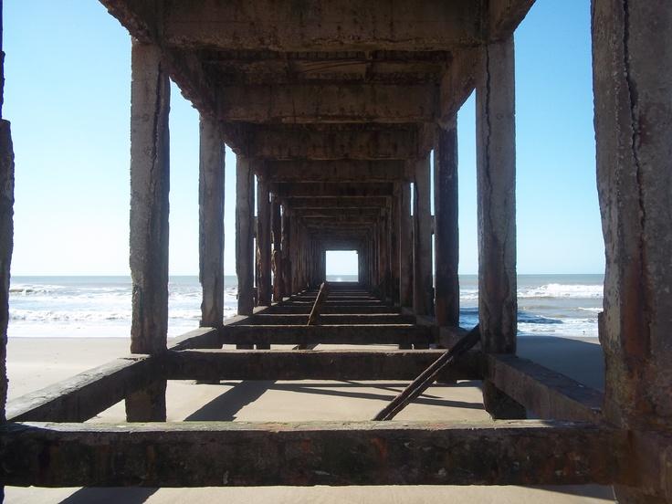 Muelle viejo de Necochea