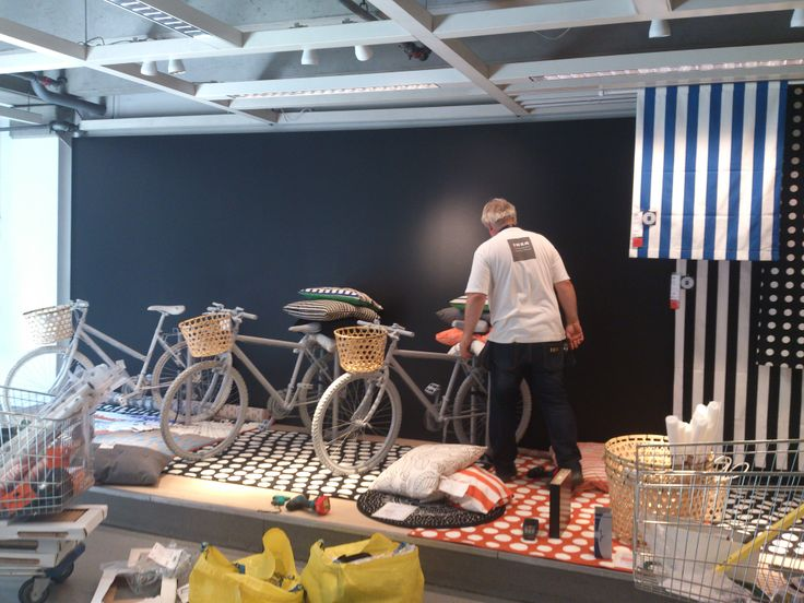 a fun textile inspiration is under construction for IKEA