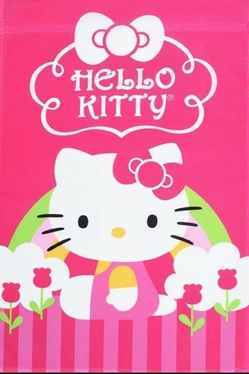 Hello Kitty / Tulipe(ू•ᴗ•ू❁)