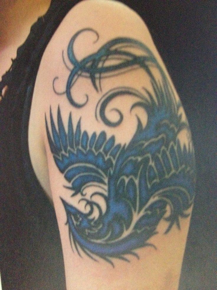 22 besten phoenix tattoos for women printable bilder auf. Black Bedroom Furniture Sets. Home Design Ideas