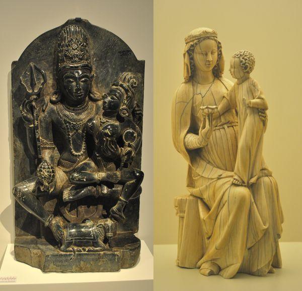 Oriente y occidente, femenino y masculino, Yin Yang... dualidad.