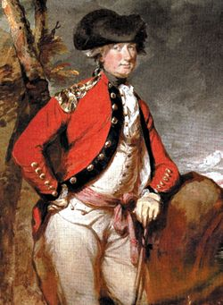 Charles Cornwallis, Daniel Gardner,  early 1780s,  Jamestown-Yorktown Foundation