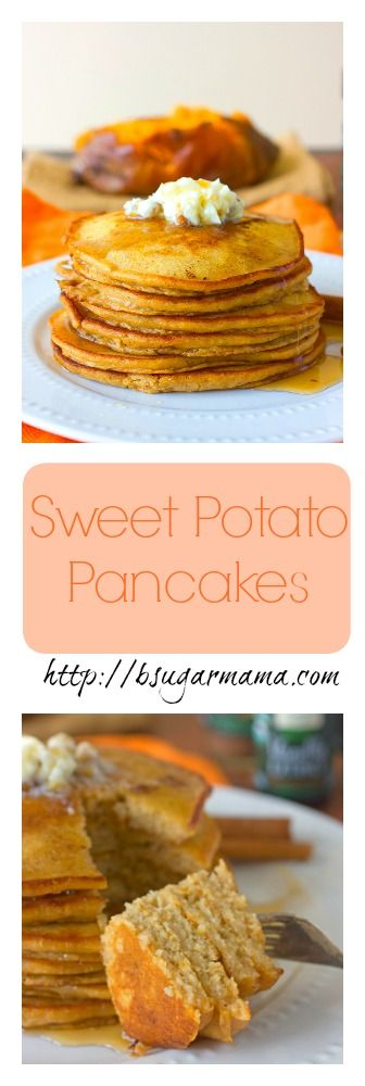 Sweet Potato Pancakes made with @FrontierCo-Op spices and extracts! #cookwithpurpose