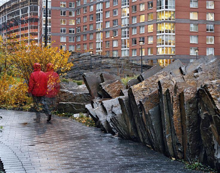 Teardrop Park Manhattan, Battery Park City, NYC 9/24/2014