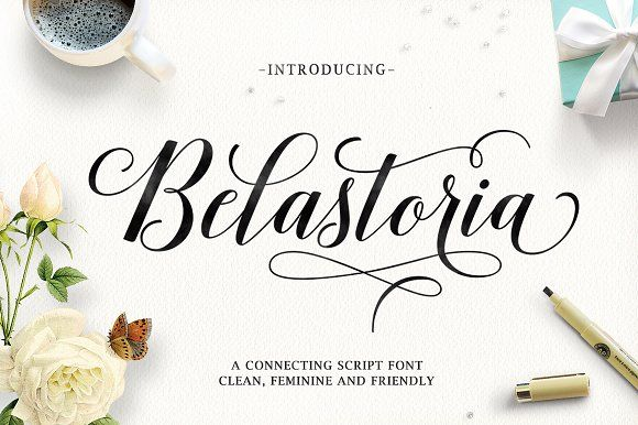 Belastoria Script (40% Off) by Seniors on @creativemarket