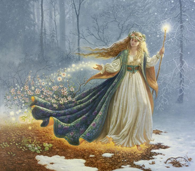 Mother Nature---Ruth Sanderson