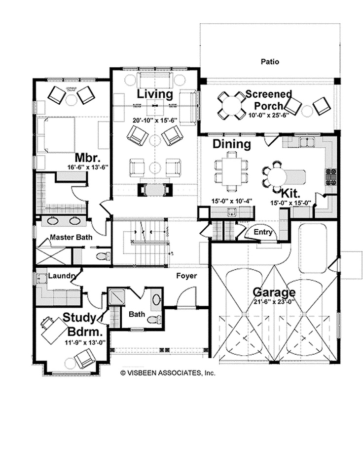 27 best stockton home by visbeen associates images on for Visbeen architects floor plans