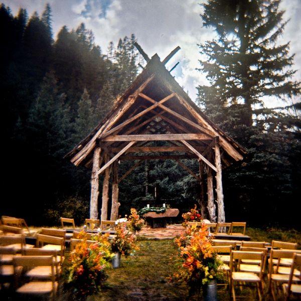 Dunton Hot Springs Wedding Chapel