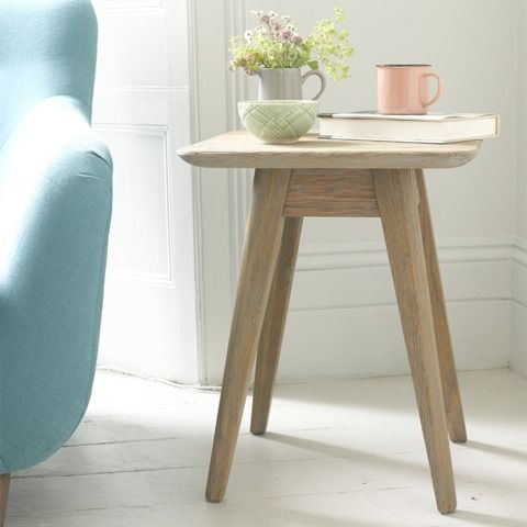 "BILLY BOB SIDE TABLE If this table could talk we reckon he'd say, ""I'm solid oak. I look like I was born in 1958. I have a naturally weathered and characterful complexion. And I'm basically hot."" You get the gist. He also buddies up with our Hill Billy coffee table."