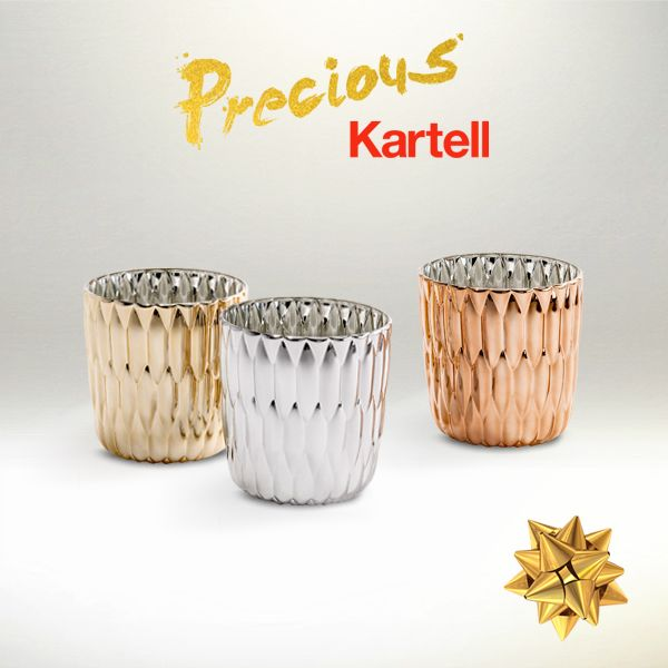 Gold makes us smile of happiness! Discover Kartell exclusive Xmas collection on http://www.kartell.com/special/preciousxmas?tp=73324&utm_source=ed&utm_medium=social&utm_campaign=Editorial_Kartellxmas_nov14