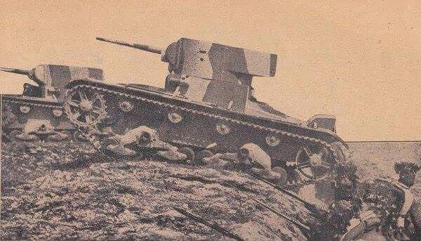 Turkish Army T-26 tank.