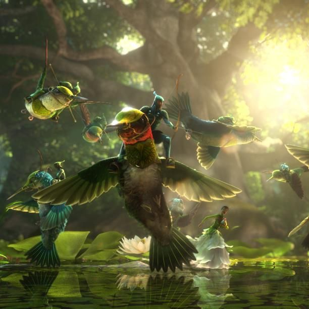 Epic this animation movie is packed with allegory and beauty within tiny world beneath our feet.