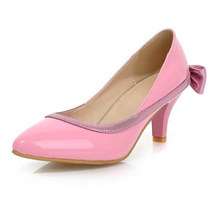 #Women'sShoesNz Chunky #Heel Pointed Toe Pumps Dress Black/Pink/Beige only at NZ$70