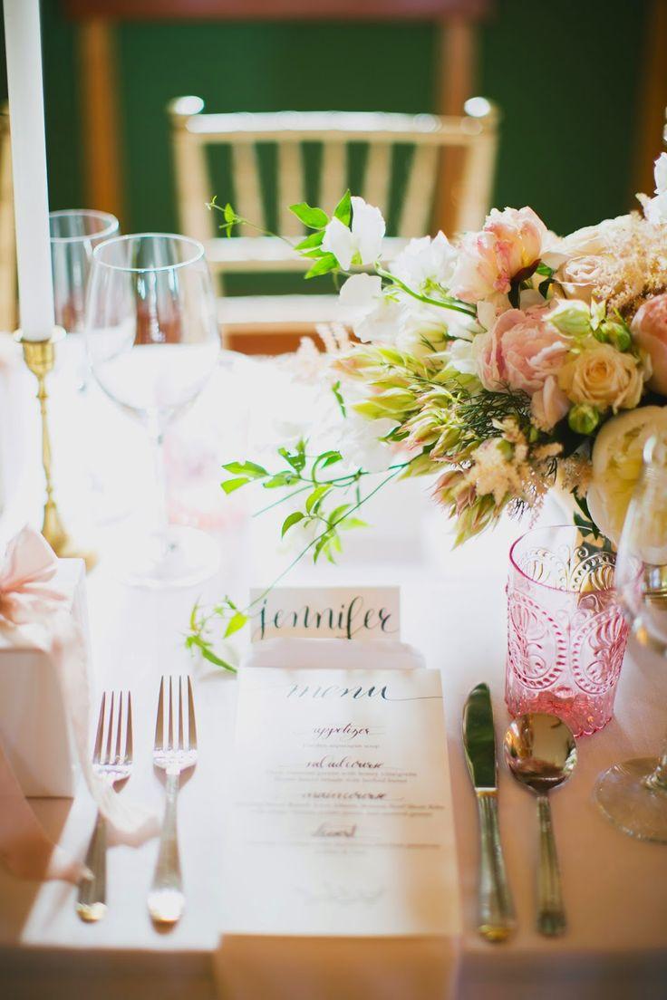 ~ Wind Lost ~ our elegant small June garden wedding