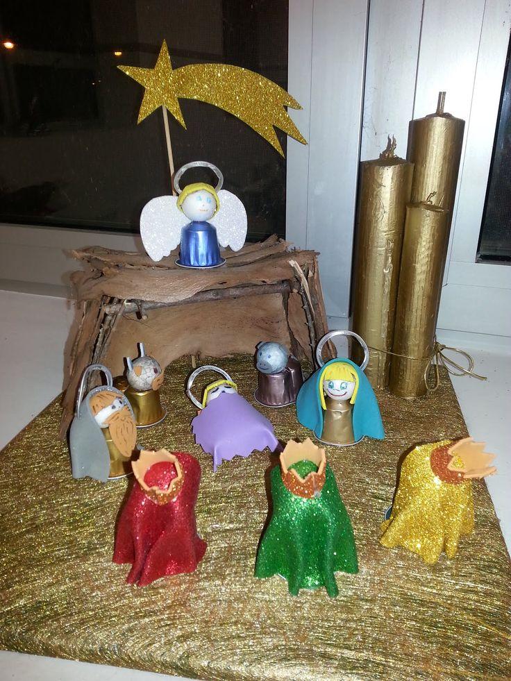 723 best natal images on pinterest christmas crafts christmas capsulas de cafe aluminio buscar con google solutioingenieria Images