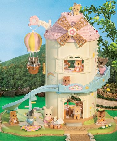 Take a look at this Baby Play House Set by Calico Critter on #zulily today!