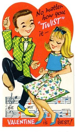 Vintage Valentine Kay Frances Solomon  has the most beautiful blonde hair.