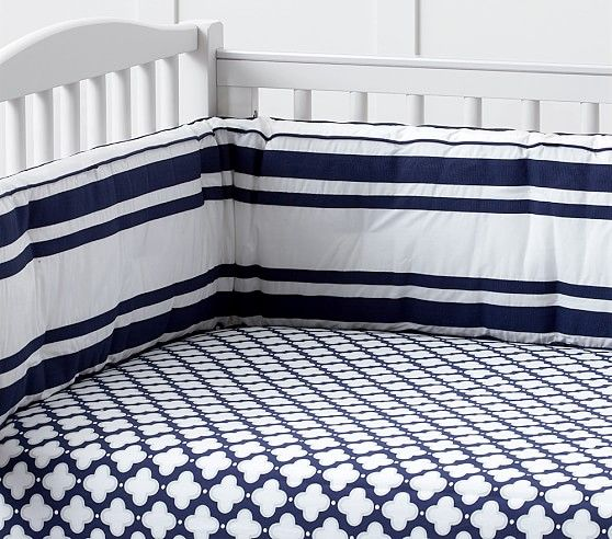 Harper Clover Geo Fitted Crib Sheet Crib Sheets Boy