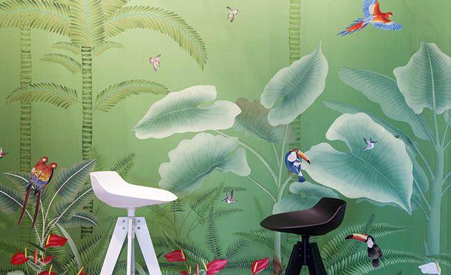Misha Handmade Wallpaper. Encuéntralo en Papeles Pintados Aribau (C/Aribau nº71, Barcelona).   →  http://bit.ly/2qkaT1M #wallpaper #handmadewallpaper #mishawallpaper #decoración #interiorismo #papelespintadosaribau