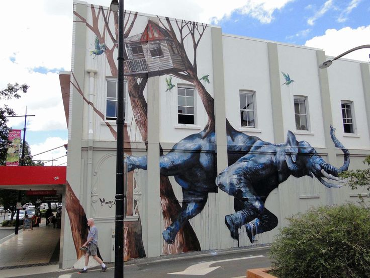 Fintan Magee spent the last few days in Toowoomba, a city in South-East Queensland, Australia, where he worked his way through this massive ...
