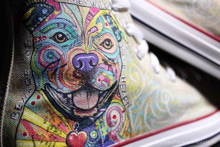 Scarpe Personalizzate dipinte a mano Vans Converse Superga