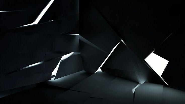Dark broken walls