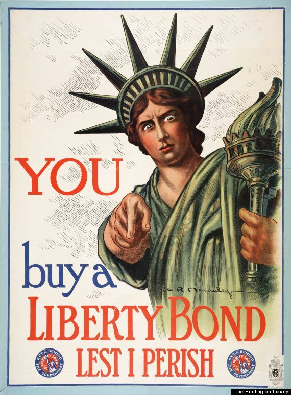 Posters Show How the Government Sold America on the First World War