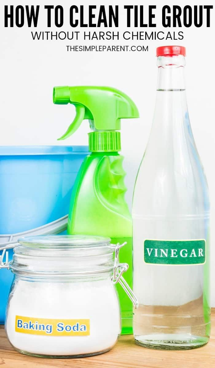 How To Clean Grout With Vinegar And Baking Soda Cleaning Grout