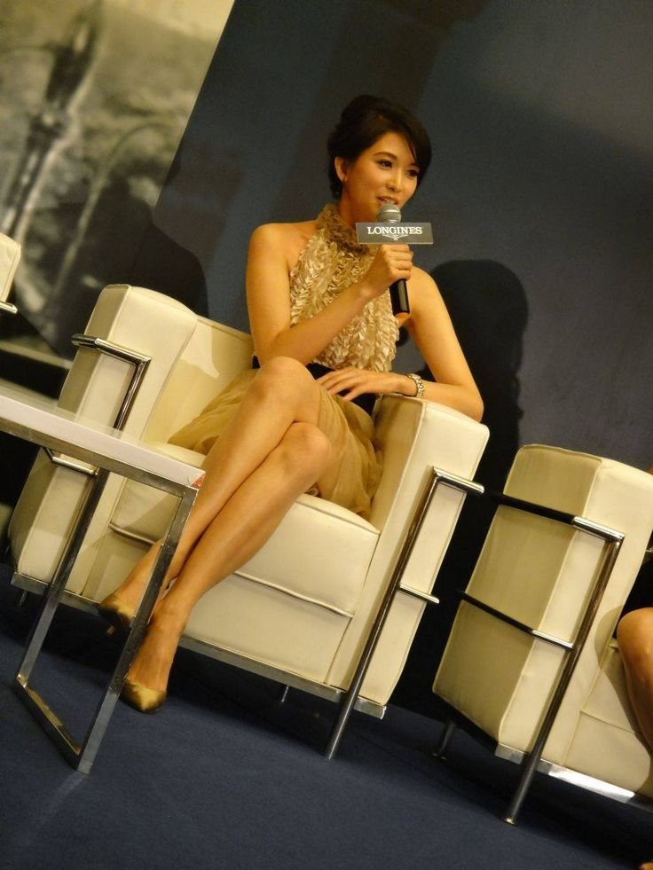 November 11 - Actress and ambassadress for Longines Watches Lin Chi-ling was the guest-of-honour at the opening of the watch label