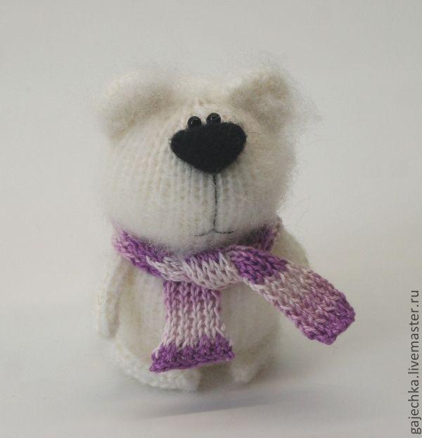 Мишка в шарфе