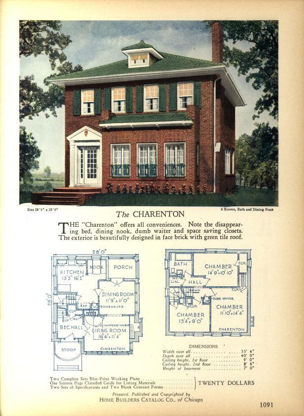 The CHARENTON Home Builders Catalog plans