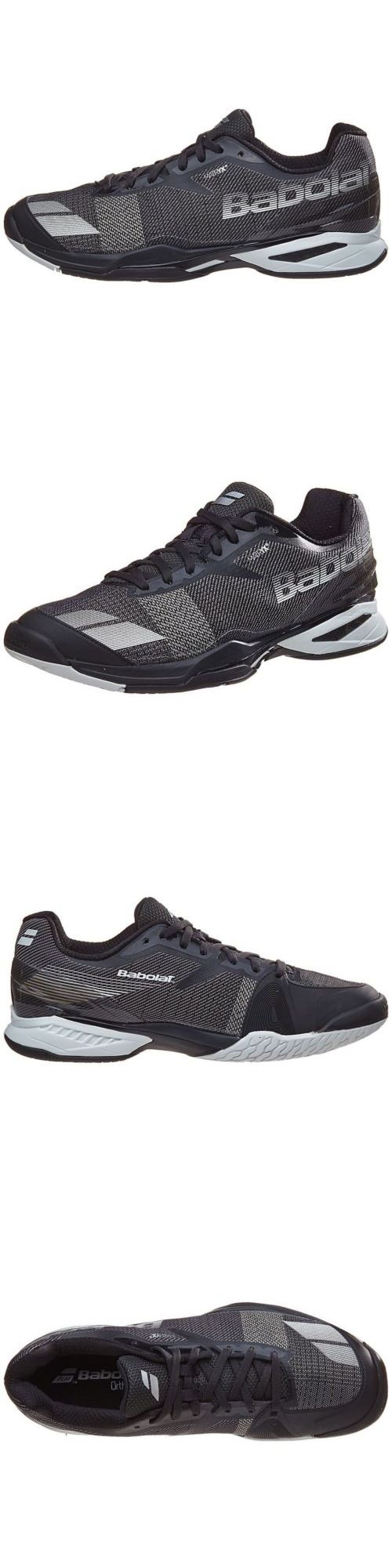 Shoes 62230: Babolat Jet All-Court Men Black White 30S17629 + Free Socks -> BUY IT NOW ONLY: $130 on eBay!