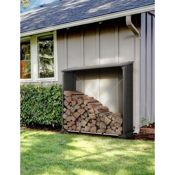 21 best Abri bois images on Pinterest Firewood storage, Sheds and