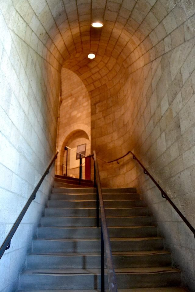 The #Cloisters #NYC #Manhattan #staircase by me