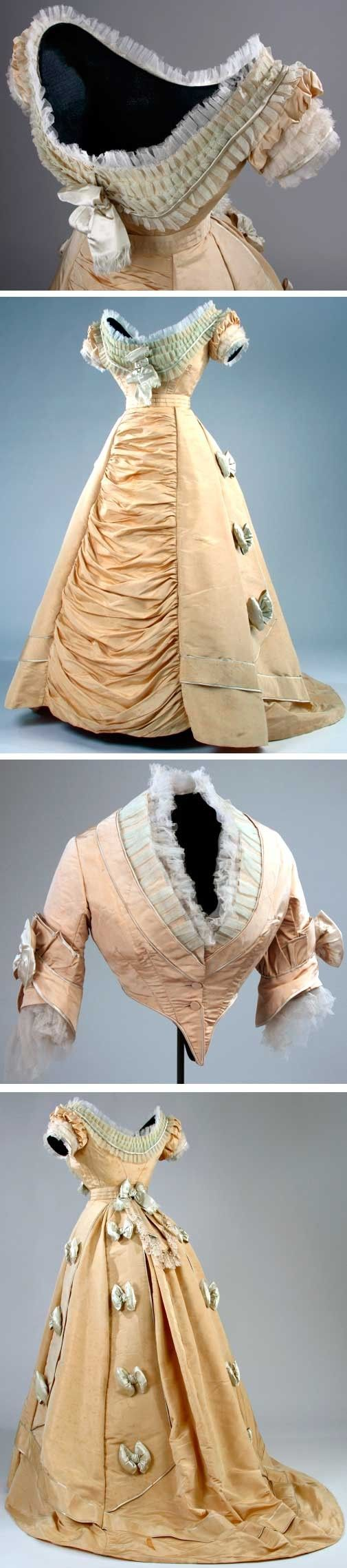 Dress, 1874. McCord Museum, Montreal
