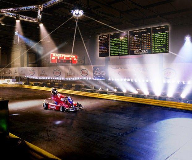 Daytona Raceway, Manchester
