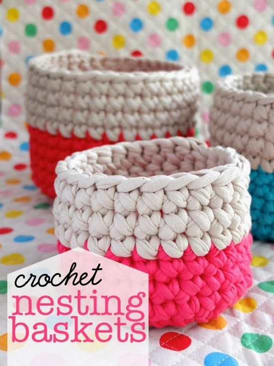 TO DIY OR NOT TO DIY: CESTOS EM CROCHET