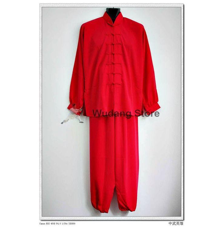 Red Tai Chi Uniform