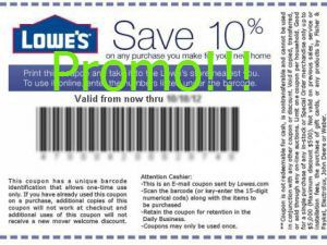 printable Lowes Home Improvement coupons