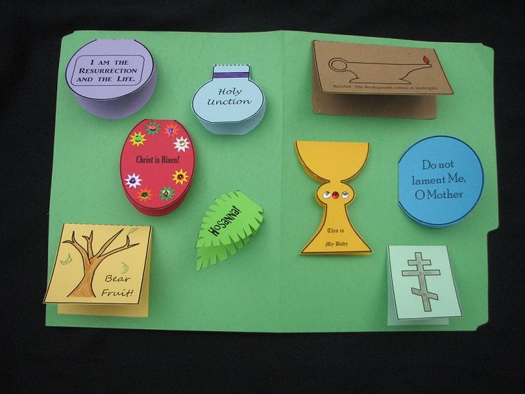 Holy Week Lapbook | The Crafty Contemplative