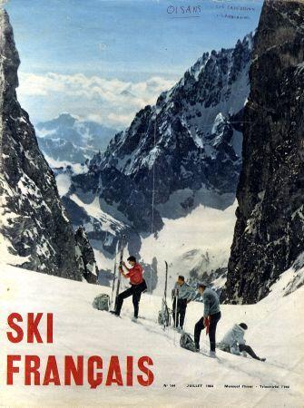 Ski Francais 1964 - vintage touring....réépinglé par Maurie Daboux ✺❃✿