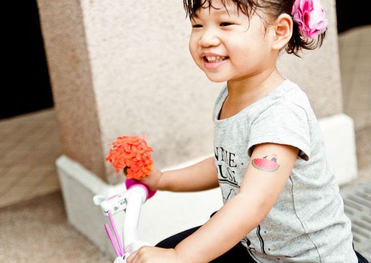 Tatouage temporaire enfants - Pastèque - 4€ - Les Esthètes