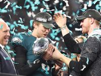 Philadelphia Eagles knock off Patriots win Super Bowl