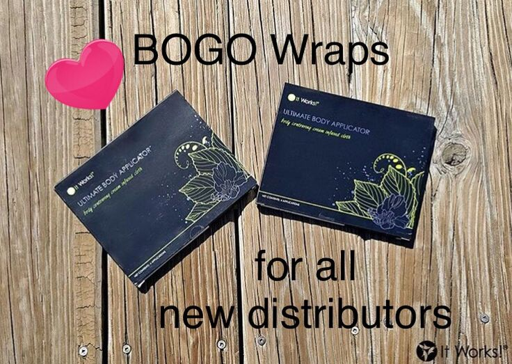 You have been watching my journey. You have seen how much this business has changed my families life.  Start on this journey with me.  Wraps are BOGO for new distributors! That means when you buy your kit for $99, not only can you make that money back, but you can make another $100 as well!  No contracts.No fees. No quotas. We are having an online party tonight  and will be covering all the business aspects.  Message me for an invite.